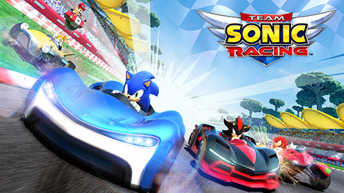 Team Sonic Racing Game Cover