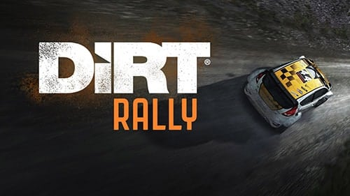 DiRT Rally Game Cover
