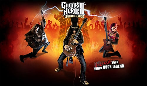 Guitar Hero 3 Legends Of Rock Game Cover