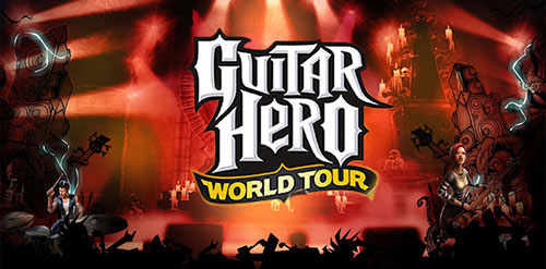 Guitar Hero World Tour Game Cover
