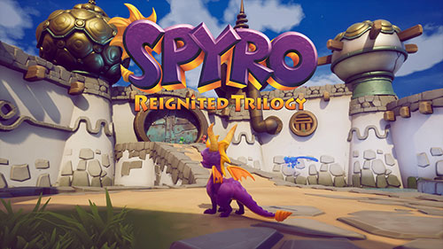Spyro Reignited Trilogy Game Cover