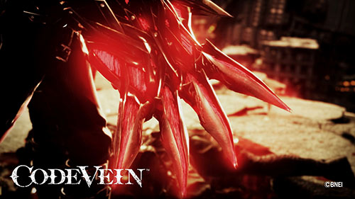 Code Vein Game Cover