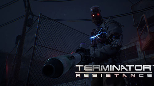 Terminator: Resistance Game Cover