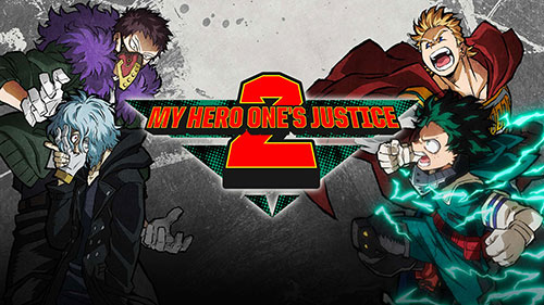 My Hero One's Justice 2 Game Cover