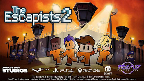 The Escapists 2 Game Cover