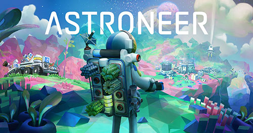 Astroneer Game Cover