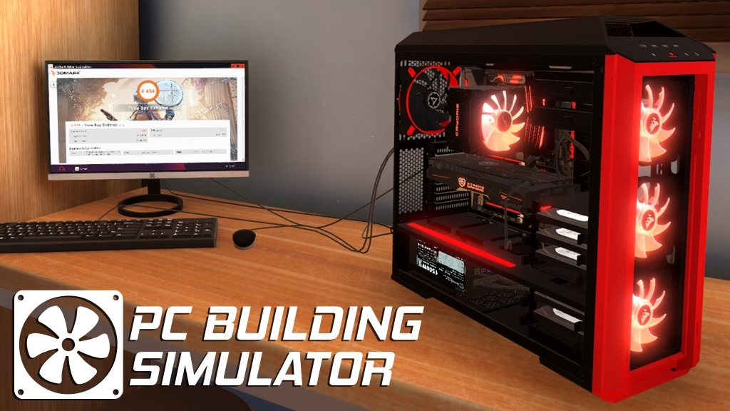 PC Building Simulator Game Cover